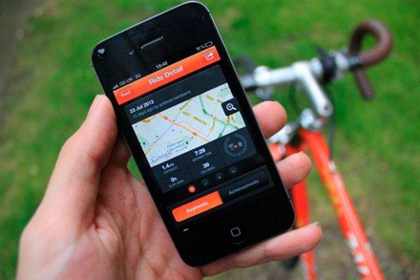 La brújula GPS para bicis