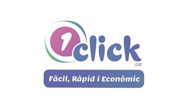 Plataforma 1Click, web, fàcil, ràpid i econòmic