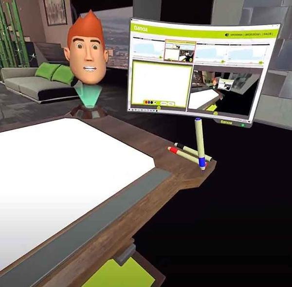 Bankia y Vodafone inician un proyecto de realidad virtual y videollamadas en 3D.