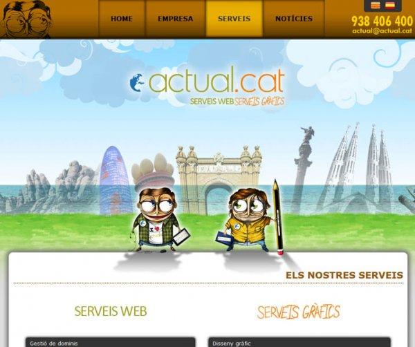 Os presentamos nuestra nueva Web Actual.cat 2.0