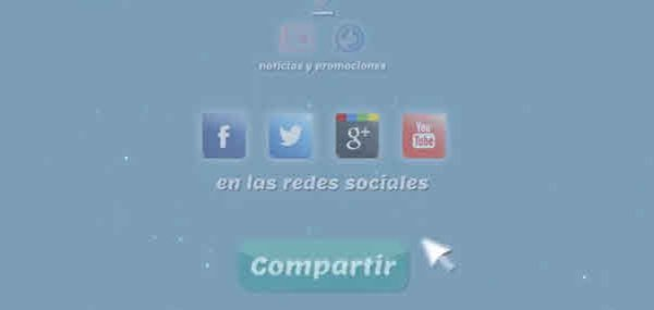 Comparte tu información en las redes sociales