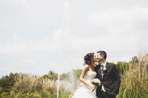 El casament d'en Carles & la Mireia al Mas de Sant Lleí