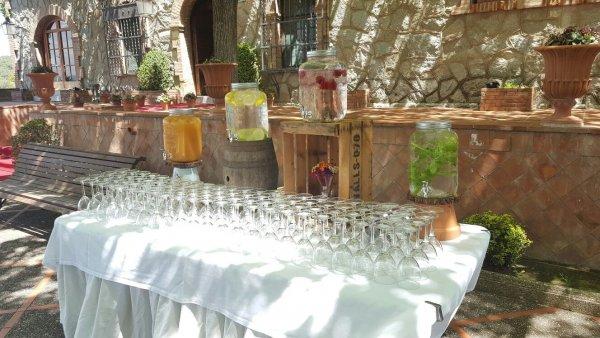 Bebidas refrescantes para tu boda