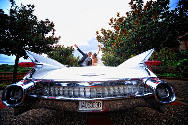 ¿Con qué coche llegar el día de la boda?