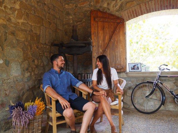 Una entrevista llena de detalles de la boda de Estefanía y Alejandro