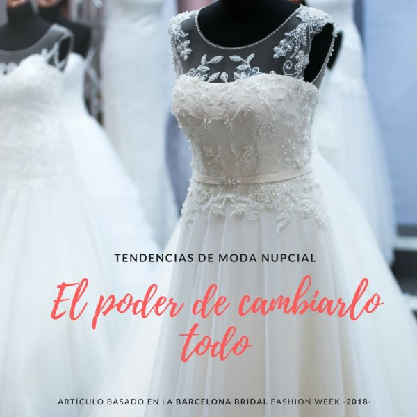 ¿Te casas en 2019 y todavía estas buscando inspiración para tu vestido de novia?