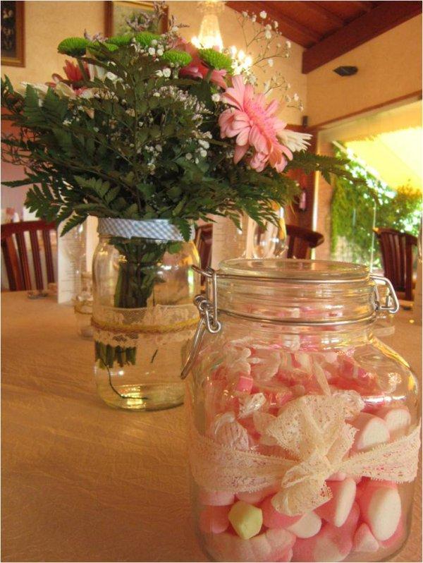 ¡Crea un centro de mesa de golosinas para tu boda!