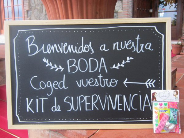 ¡Regala kits de supervivencia en tu boda!