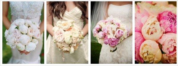 Utiliza peonias en tu boda, la reina de las flores!
