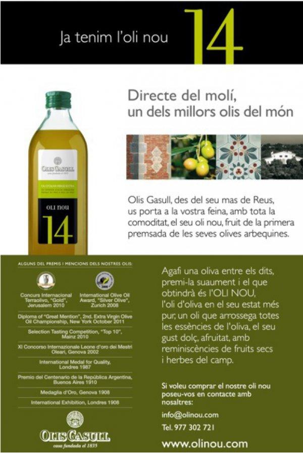 Els 'Pollos' de Llull ofrecemos uno de los mejores aceites del mundo