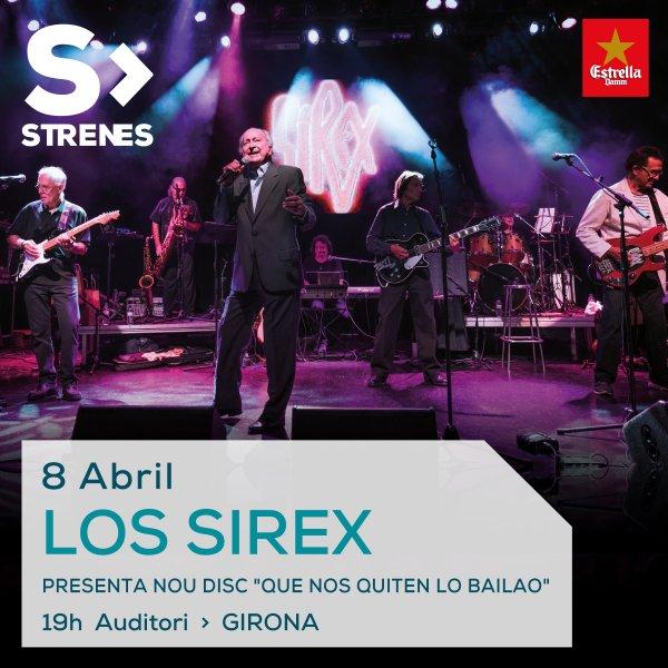 Los Sirex - Presentan Nuevo Disco 'Que me quiten lo bailao' en Girona