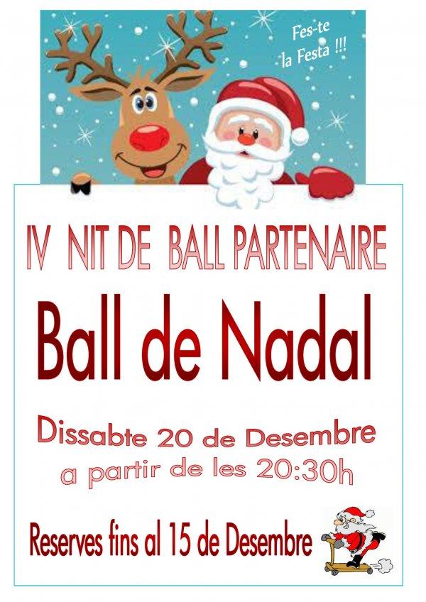IV Nit de Ball Partenaire. Ball de Nadal