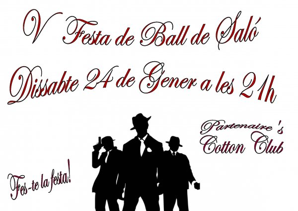 V Festa de Ball de Saló. Nit del Cotton Club.