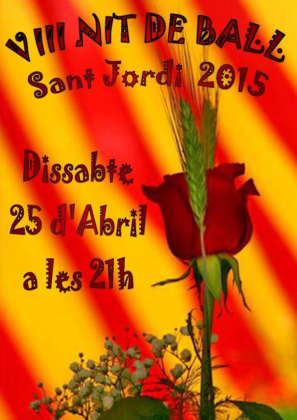 VIII Festa de Ball de Saló. Nit de Sant Jordi
