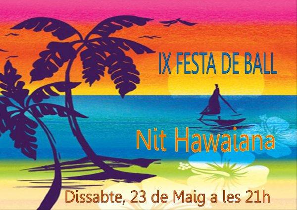 IX Festa de Ball de Saló. Nit Hawaiana