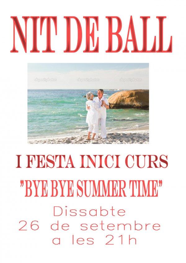 I Fiesta de Bailes de Salón. Fiesta Inicio de curso. Bye,bye summer time!