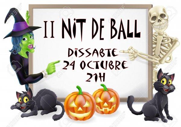 II Fiesta de Bailes de Salón. Noche de Halloween y Castañada.