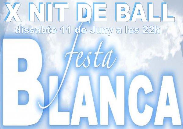 X Fiesta de Bailes de Salón, Fieata Blanca