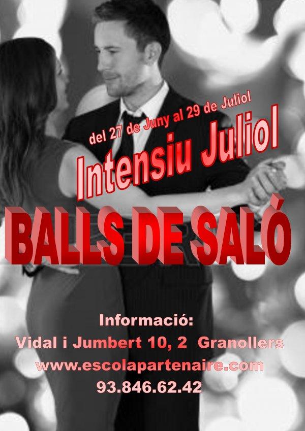 Curs intensiu de Balls de Saló. Juliol 2016