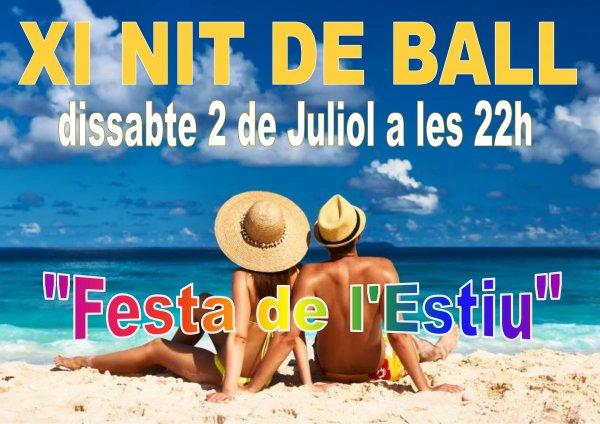 XI Nit de Ball. Festa de l'estiu.