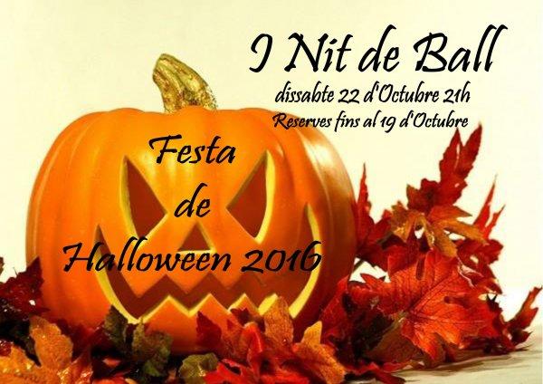 I Nit de Ball. Festa de Halloween