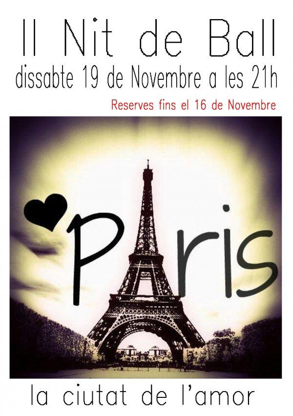 II Nit de Ball. Paris, la ciutat de l'amor.