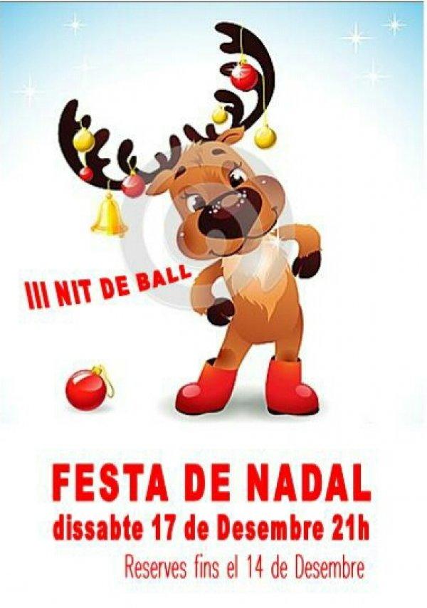 III Fiesta de Bailes de Salón. Fiesta de Navidad
