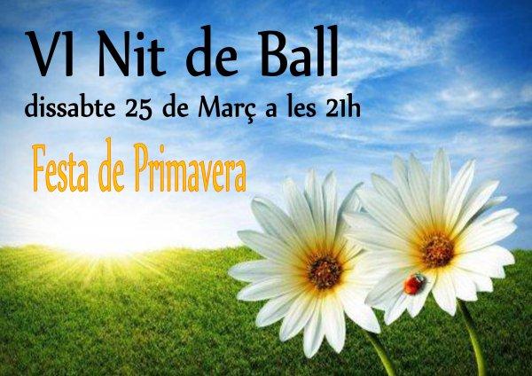 VI Nit de Ball. Festa de la Primarvera