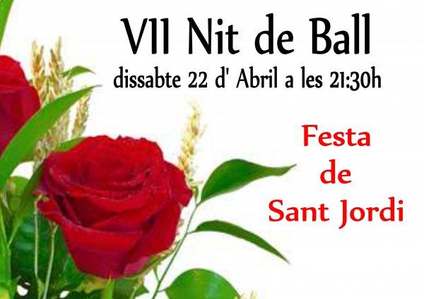 VII Fiesta de Bailes de Salón. Fiesta de Sant Jordi