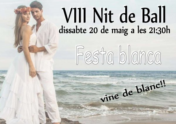 VIII Fiesta de Bailes de Salón. Fiesta Blanca