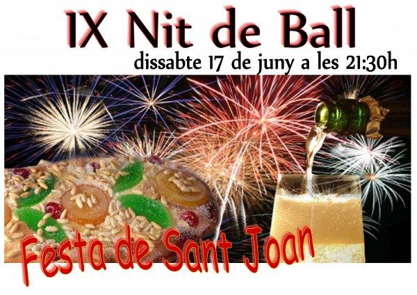 IX Nit de Ball. Festa de Sant Joan