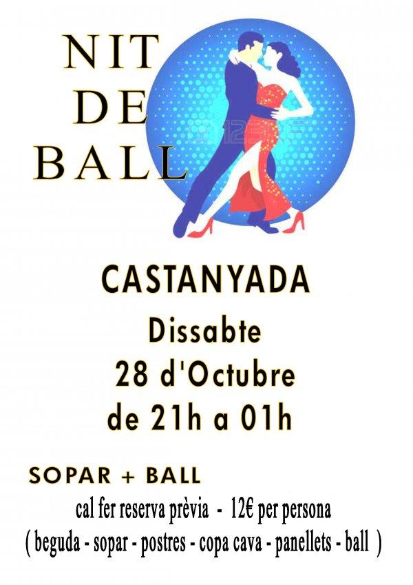 I Fiesta de Bailes de Salón curso 2017-2018. Fiesta de la Castanyada