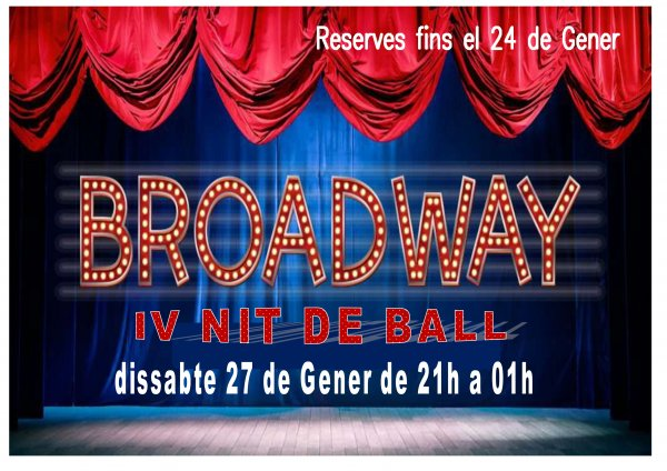 IV Nit de Ball. Nit de Musicals
