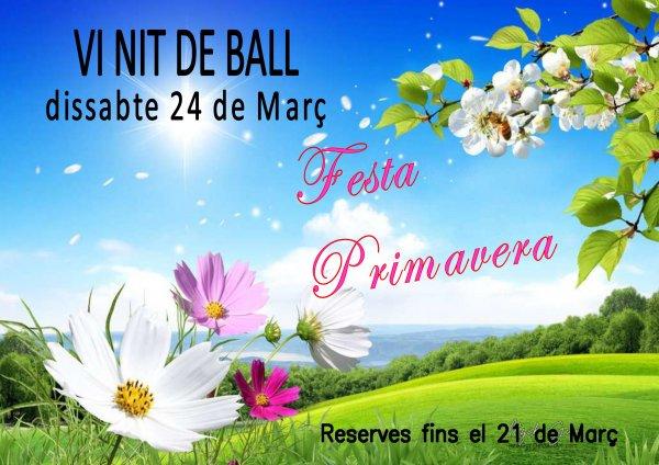 VI Nit de Ball. Festa de la Primavera
