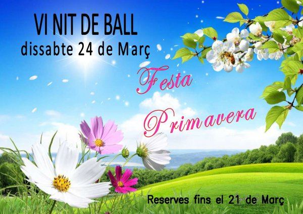 VI Fiesta de Bailes de Salón. Fiesta de la Primavera