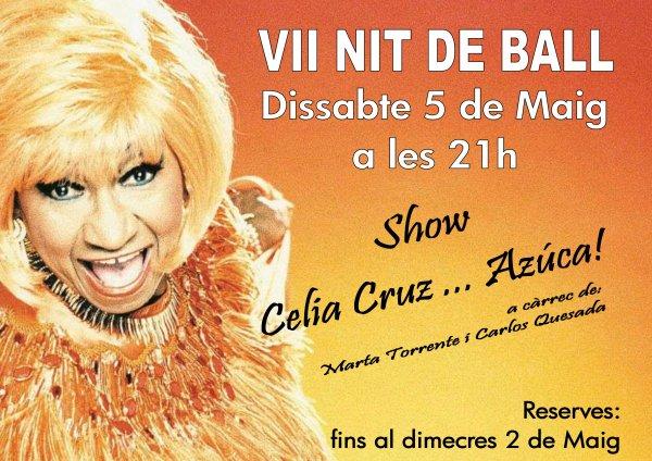 VII Nit de Ball. Festa Asucar!!!