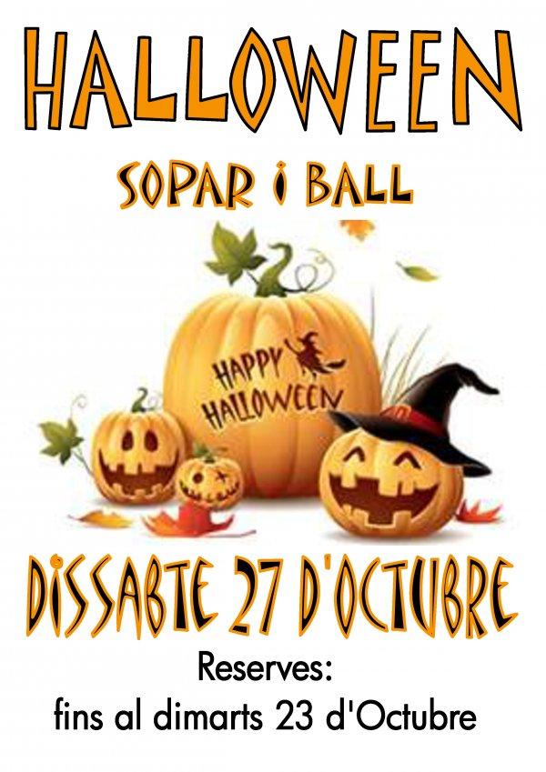 I Fiesta de Bailes de Salón. Fiesta de Halloween