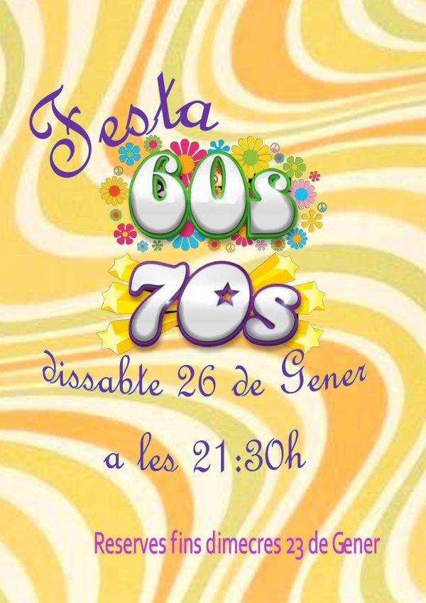 IV Nit de Ball. Festa anys 60 i 70