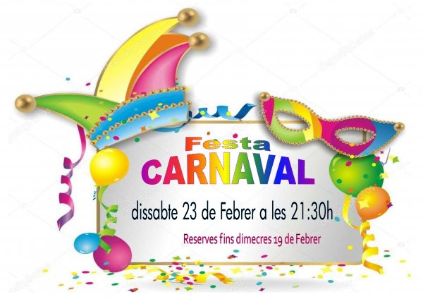 V Nit de Ball. Gran Festa de Carnaval