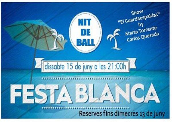 VII Fiesta de Bailes de Salón. Fiesta Blanca