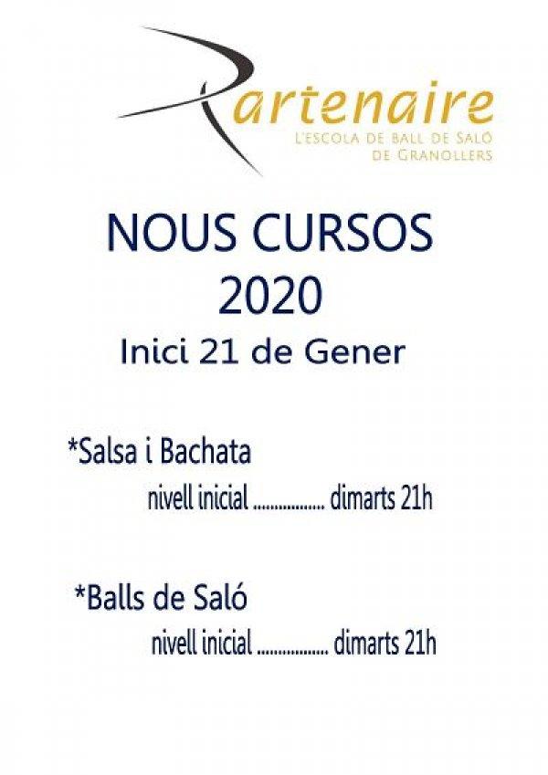 Nous cursos Gener 2020