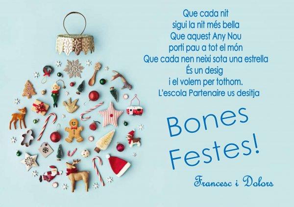 Bon Nadal i Feliç 2.020