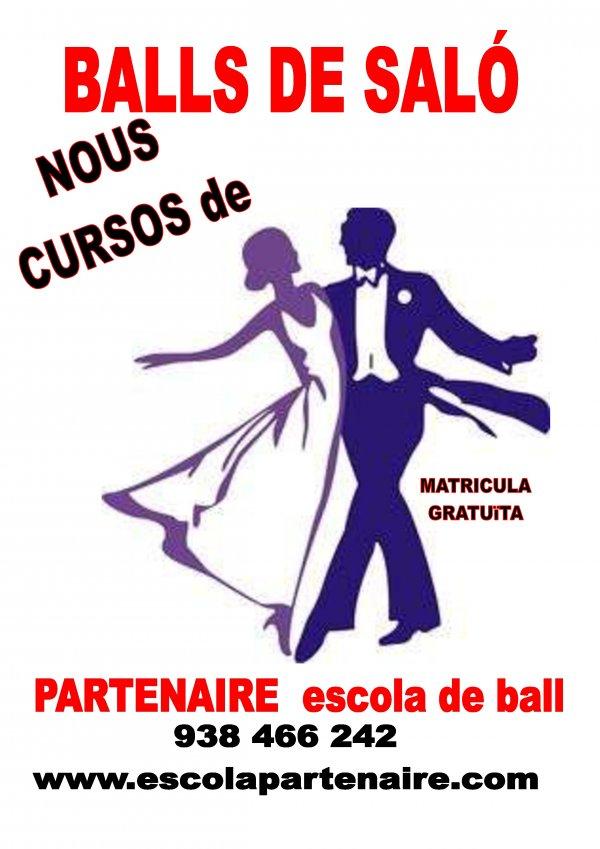 Nous cursos de ball de saló. Inici Abril 2019