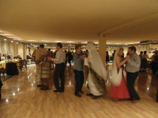 Segundo encuentro de Bailes de Salçon y Baile de Carnaval