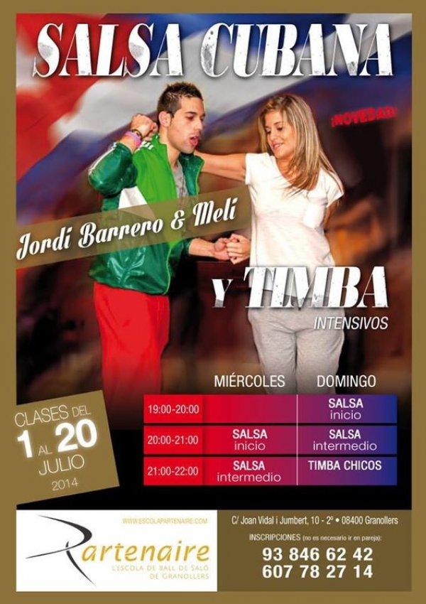 Curs Intensiu de Salsa Juliol 2014