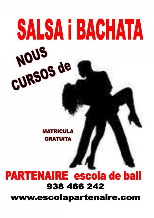 Nuevos cursos de Salsa y Bachata. Inicio Abril 2019