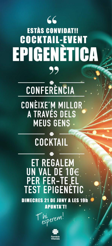 Conferència + Còctel: Coneix-te millor a través de les teves gens
