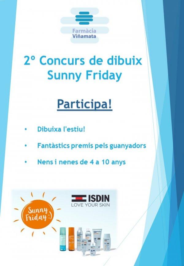2º Concurs de dibuix  Sunny Friday de Isdin |  Participa! T'hi esperem