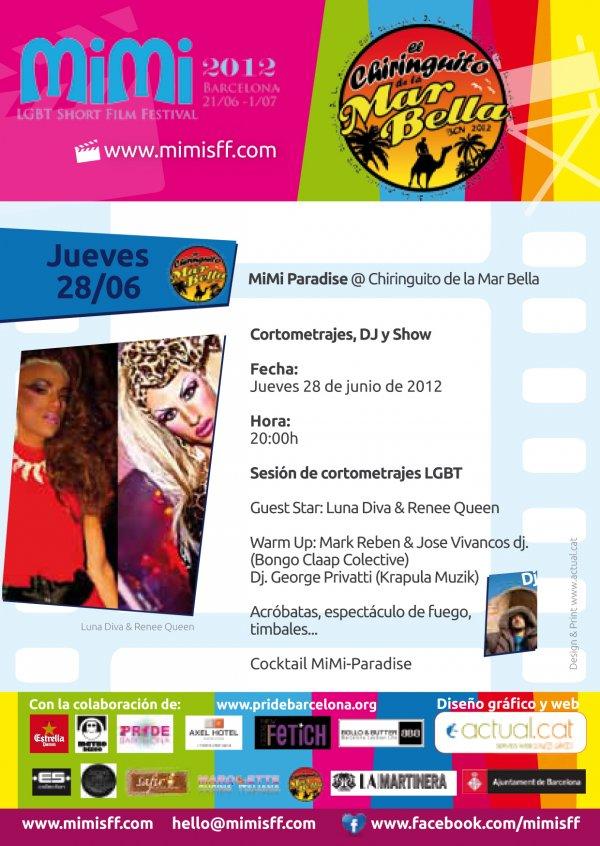 MiMi PARADISE @ EL CHIRINGUITO DE LA MAR BELLA
