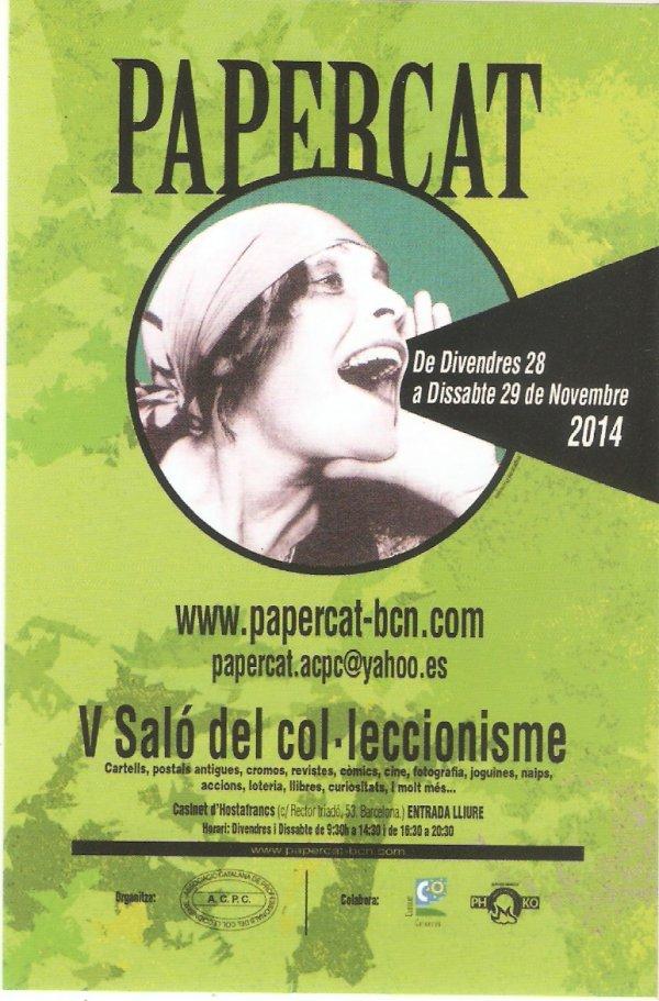 PAPERCAT VI SALO DEL COL-LECIONISME